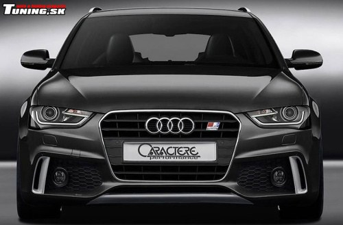 audi a4 s4 avant black caractere performance styling