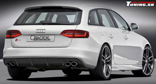 audi a4 s4 avant white caractere performance styling