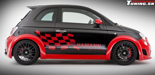 fiat 500 abarth hamann tuning autodopl tuning racing shop. Black Bedroom Furniture Sets. Home Design Ideas