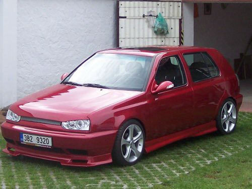 volkswagen golf 3 tuning. VW Golf III tuning