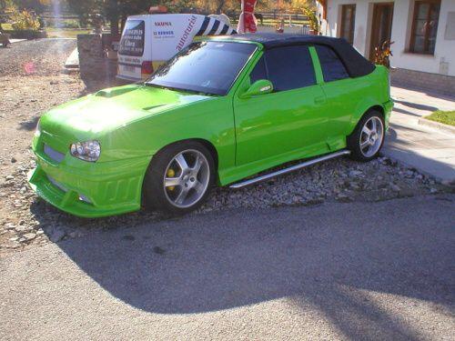 Opel Kadett tuning