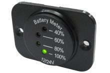 LED indik�tor baterie