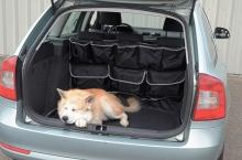 Ochrana do kufru s kapsami