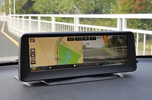 "LCD monitor 8"" s DVR, GPS"
