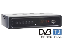 DVB-T2 digitální tuner s USB