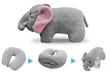 Cestovní polštářek 2v1 slon