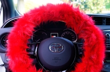 Potahy na volant Fluffy Fur