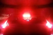 Strobo LED brzdové světlo