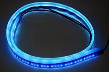LED silikonový plochý pásek