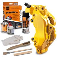 FOLIATEC - barva na brzdové třmeny Performance žlutá lesklá (3-dílná sada)