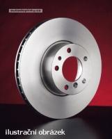 Zimmermann přední brzdové kotouče - vzduchem chlazené Jaguar S-TYPE (CCX), 2.5 V6 - výkon 147 kW -- od roku výroby 04/2002-
