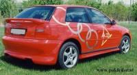 zadný spojler krídlo Audi A3 rok výroby -1999 - 440025563