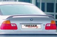 Rieger Tuning zadní spoiler křídlo bez brzdového světla BMW 3 E46 sedan (B 00115063)