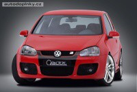 CARACTERE přední nárazník (pro modely s originál mhovkami) VW Golf V GTi