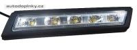 Světla s LED pro VW Golf VI 09-, automatické denní svícení, homologace drlVW04