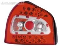 Zadní světla (lampy) Audi A3 -- rok výroby 96-03 LED červené/čiré SLEVA 15%
