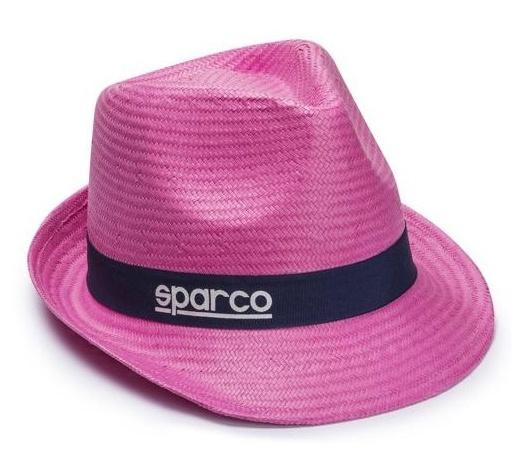 fd71135c2d3 Dámský slaměný klobouk SPARCO - růžový SLEVA 10%