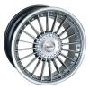zvětšit náhled - Litá kola DYNAMICS model EIGER velikost 8.0x17 palců -- stříbrný leštěný povrch