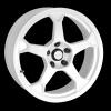 zvětšit náhled - Litá kola DYNAMICS RACING model PRO RACE 2 velikost 7.0x17 palců -- barva bílá