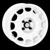 zvětšit náhled - Litá kola DYNAMICS RACING model PRO RALLY 1 velikost 6.0x15 palců -- barva bílá