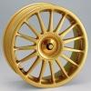 zvětšit náhled - Litá kola DYNAMICS model MONZA velikost 7.0x17 palců -- barva zlatá