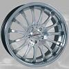 zvětšit náhled - Litá kola DYNAMICS RACING model Equinox velikost 8x18 palců -- barva stříbrná