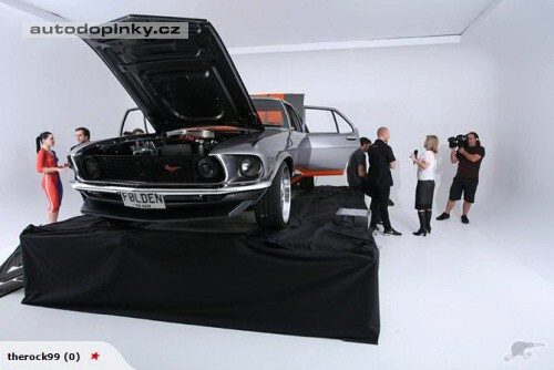 Holden HQ Mustang