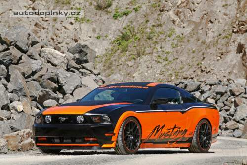 Mustang podle Design World