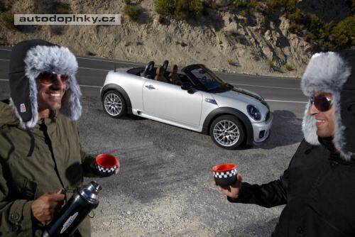 Mini Roadster odhalen
