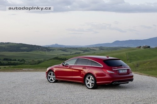 Mercedes CLS Shooting Brake oficiálně