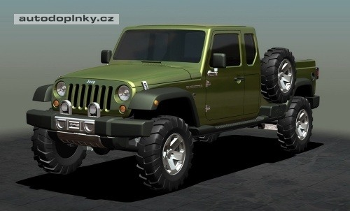 Jeep Wranger pickup bude