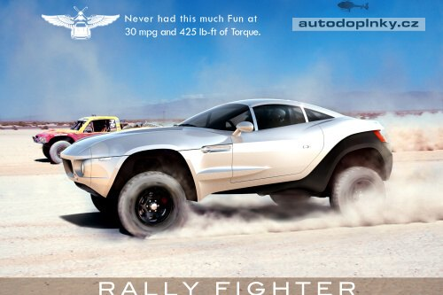 Rally Fighter: ujetý projekt