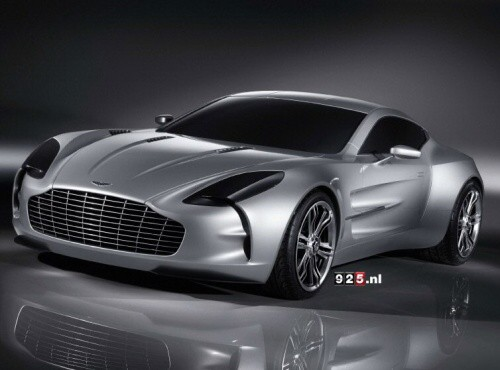 Aston Martin One-77 odhalen