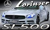 Mercedes Benz SL500 Lorinser – luxusný styling pre hviezdny roadster R231